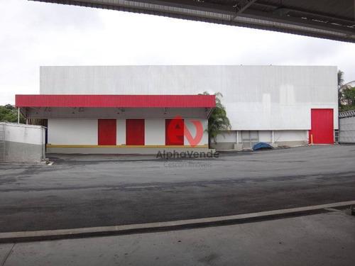 Galpão Comercial Para Locação, Vila Engenho Novo, Barueri - Ga0716. - Ga0716