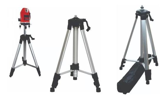 Tripé Para Nível A Laser Telescópio Até 1.2m +bolsa