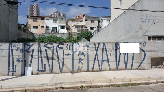 Terreno Para Venda No Bairro Campestre Em Santo André - Sp - Ter011