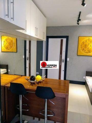 Studio Com 1 Dormitório À Venda, 38 M² Por R$ 275.000,00 - Vila Augusta - Guarulhos/sp - St0011