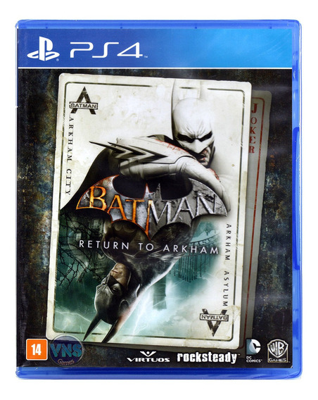 Batman Return To Arkham - Ps4 - Novo - Mídia Física Lacrado