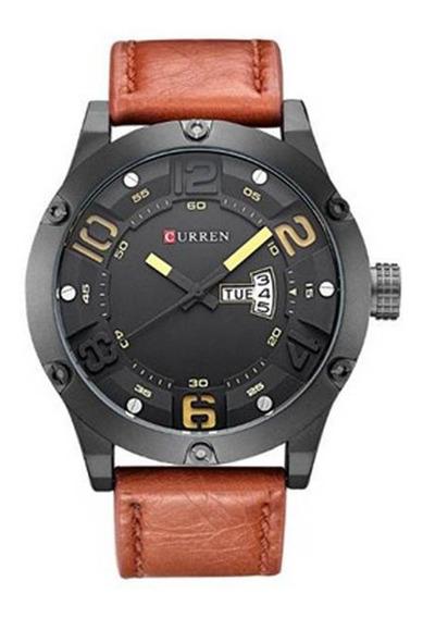 Relógio De Pulso Masculino 8251 Pm Curren