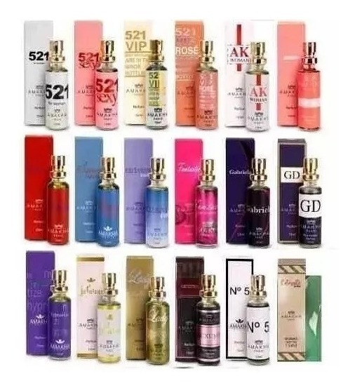 10 Perfumes Para Revenda Amakha Paris So Hj