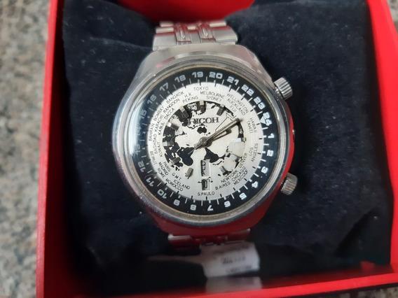Relógio Ricoh Hora Mundial