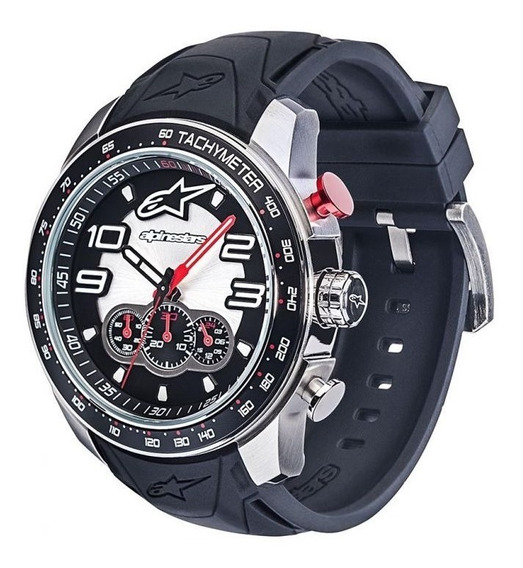 Relógio Alpinestars Pulso Tech Chrono Silicone