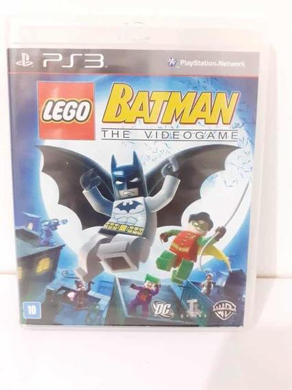 Lego Batman The Video Game Ps3 Mídia Física Original