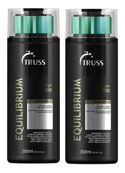 Kit C/ 02 Shampoos Equilibrium 300ml - Truss