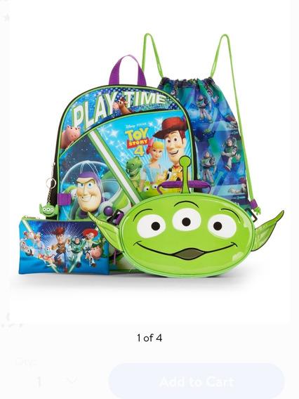 Morral Escolar De Niño Toy Story