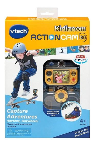 Camera Gopro Infantil Vtech Kidizoom Action Cam 180°