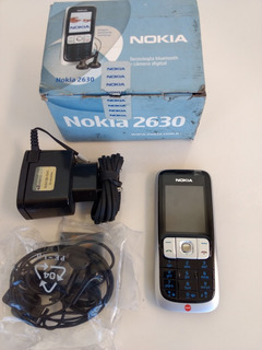 Nokia 2630 Bloqueado Claro