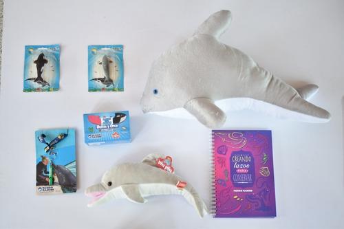 Imagen 1 de 1 de Delfin Xxl-cuaderno-delfin- Silbato-set Masas-flock *2 Mm