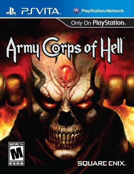 Jogo Playstation Psvita Army Corps Of Hell Player Memory