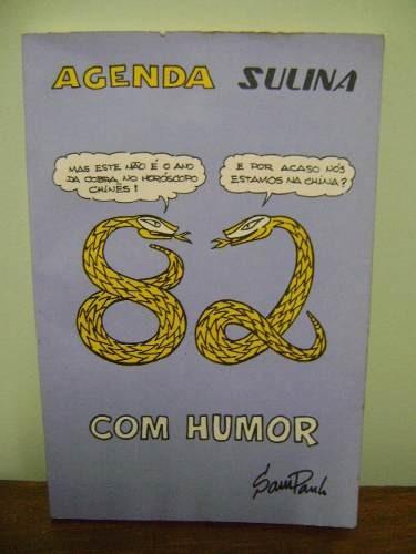 Livro Agenda Sulina Humor Sampaulo Porto Alegre Sofrenildo