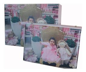Álbum Personalizado Com Foto Ou Escrito Bordado