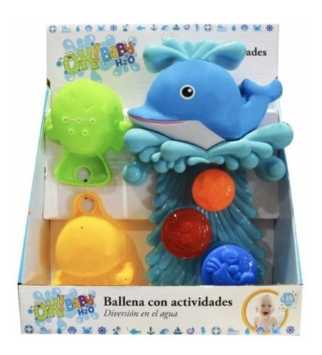 Imagen 1 de 3 de Ballena Con Actividades Diversion En El Agua Ok Baby