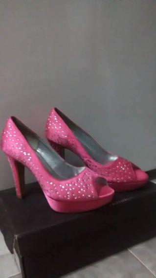 Sapato De Noiva Rosa