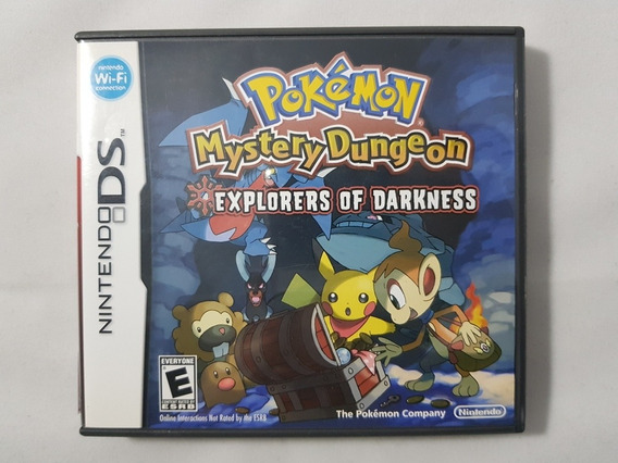 Pokémon Mystery Dungeon Explorers Of Darkness Nintendo Ds