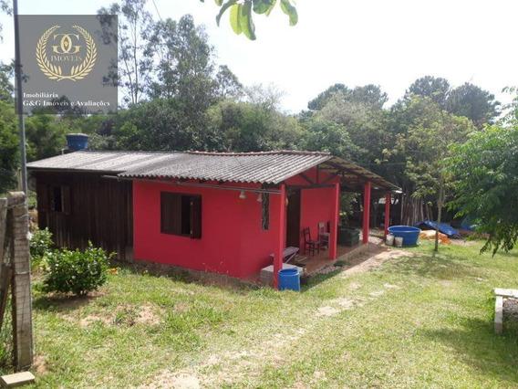 Chácara Com 2 Dormitórios À Venda, 5000 M² Por R$ 120.000,00 - Águas Claras - Viamão/rs - Ch0026