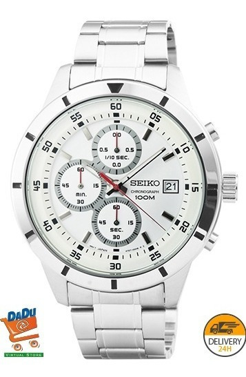 Reloj Seiko Hombre - Acero - Nuevo, Original Y En Caja