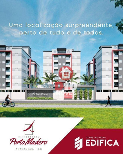 Apartamento À Venda Por R$ 230.000,00 - Jardim Das Avenidas - Araranguá/sc - Ap2292