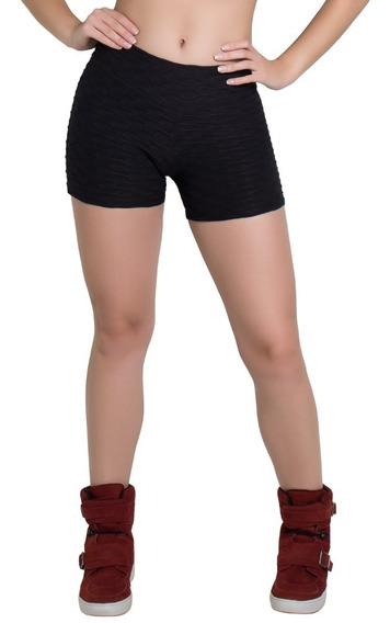 Shorts Plus Size Suplex Bolha Treino Academia Cós Alto