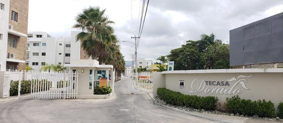 Apartamento Amueblado En Res. Con Piscina En Santiago Awpa02