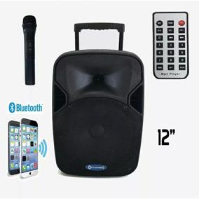 Caixa De Som Ativa Eclapower 200w Rms Bluetooth | Pen Drive
