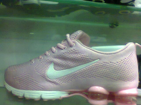 Tenis Nike Shox Zoom Rosa E Branco Nº38 Original + Brinde