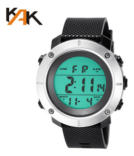 Kak Moda Outdoor Sports Relógio Escalada Caminhadas Relógio