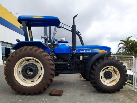 Trator New Holland - Nh 7630