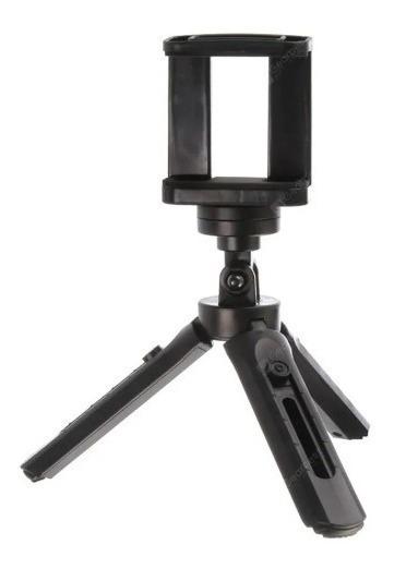 Mini Tripe Para Celular E Camera Mesa Com Regulagem Altura