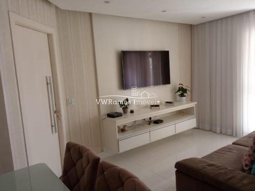 Imagem 1 de 7 de Apartamento Em Condomínio Padrão Para Venda No Bairro Vila Gomes Cardim, 3 Dorm, 1 Suíte, 2 Vagas Fixas, 93 M² - 1171