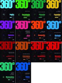 Coleçao 360º Novo Ftd 14 Box -todas As Materias Frete Gratis