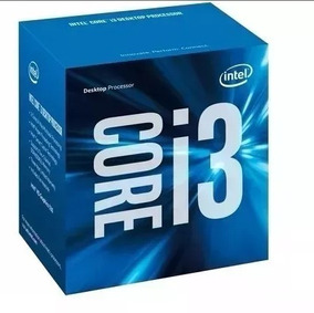 Caixa Do Processador Intel Core I3 6100 Completo Com Manual