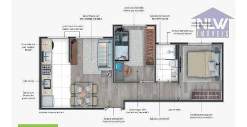 Imagem 1 de 13 de Apartamento Com 2 Dormitórios À Venda, 39 M² Por R$ 239.900,00 - Santa Maria - Santo André/sp - Ap3500
