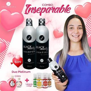 Jehesmipa Duo Platinum Black Matiz Shampoo & Keratina