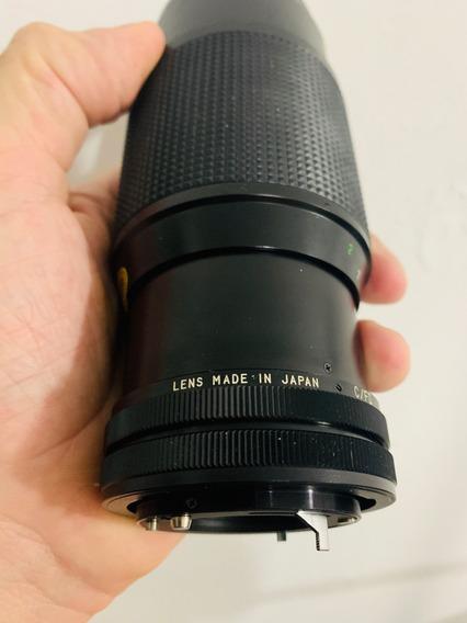 Lente Manual Objetiva Vivitar 80-200mm Cânon