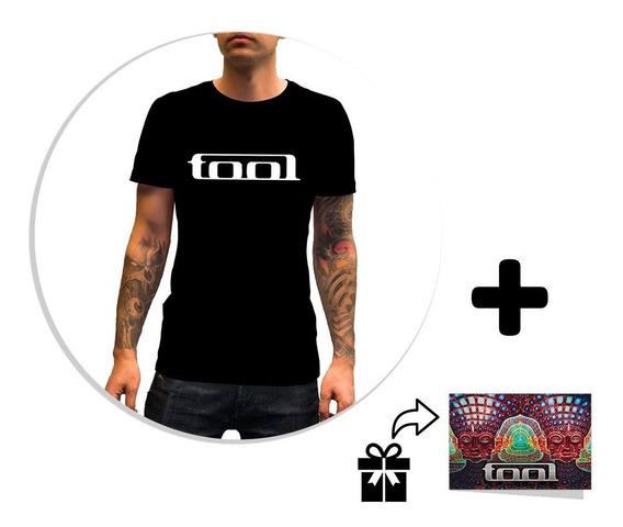 Envío Gratis Playera Caballero Tool 10,000 Days Logo + Sticker