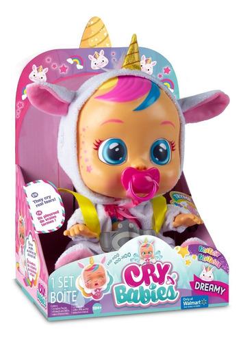 Cry Babies Dreamy Unicornio Muñeca Original