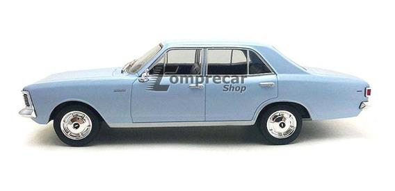 Miniatura Opala 2500 Sedan 1969 Chevy Azul 1/24 Califórnia