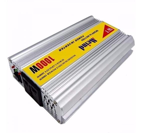 Inversor 1000w Onda Senoidal Modf. 12v P/ 110v - 1.000 Watts