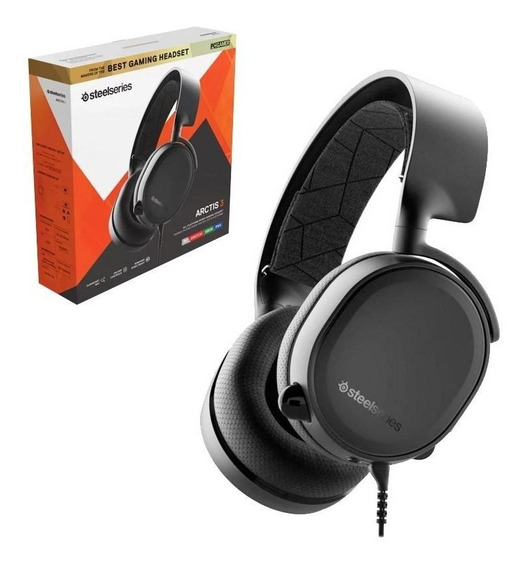 Headset Steelseries Arctis 3 Console Edition Ps4 Xbox Switch