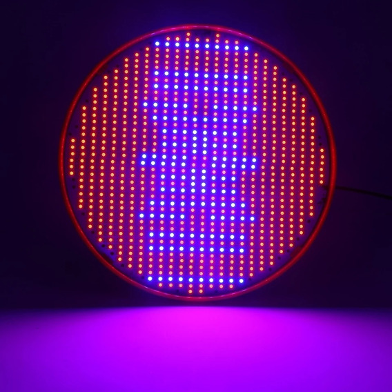 Luz Hidroponia 800 Leds Sendo 640 Vermelha 160 Azul Planta