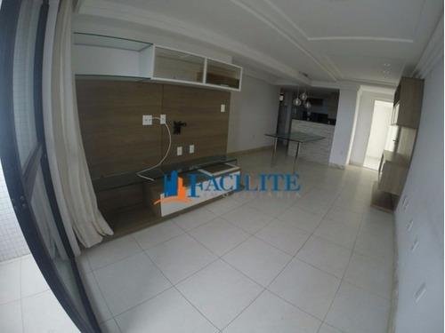 1294     Apartamento Para Vender No Bessa, João Pessoa Pb - 21775