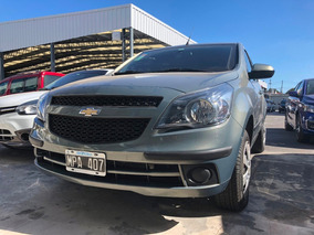 Chevrolet Agile Lt 1.4 2013 Gris Mpá
