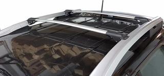 Portaequipajes Renegade Aluminio Gris