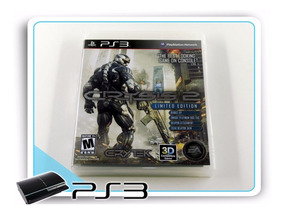 Ps3 Crysis 2 Original Playstation 3 Limited Edition