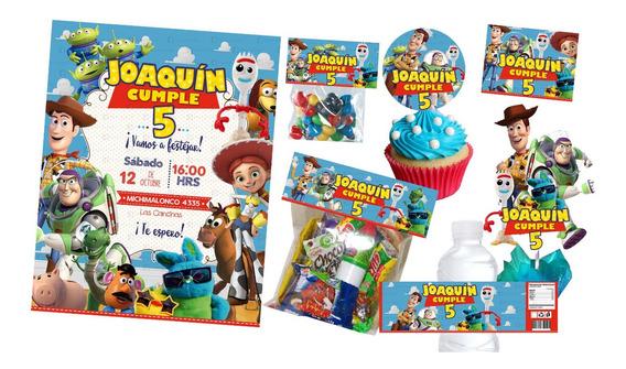 Kit Imprimible Toy Story Invitacion Y Mas
