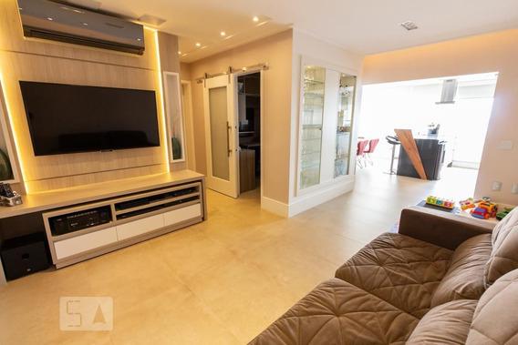 Apartamento No 25º Andar Mobiliado Com 3 Dormitórios E 2 Garagens - Id: 892961700 - 261700