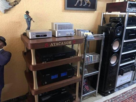 Amplificador Integrado Valvulado E Cd
